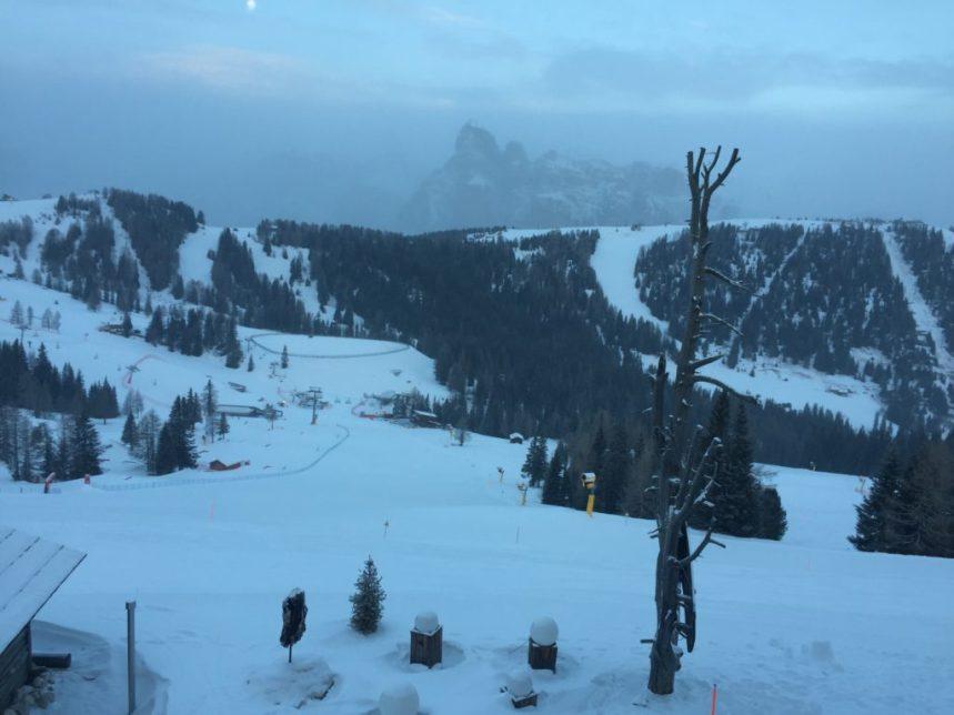 Snow in Alta Badia