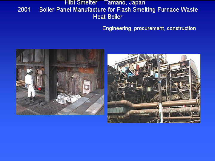 Copper Smelting Refining Others Mesco