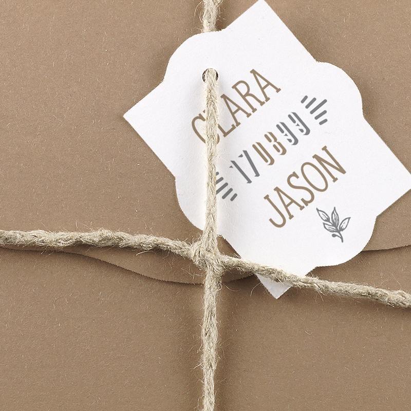 faire part mariage papier recycle