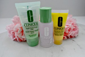 Clinique 3-Step Facial Cleansing Routine