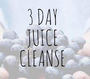 I tried a 3 day juice cleanse, and heres what happened..