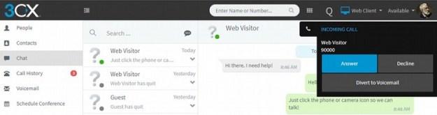 3CX Web client
