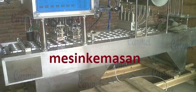 mesin cup sealer 4 line pneumatic baru
