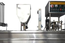 mesin cup sealer 2 line mekanik