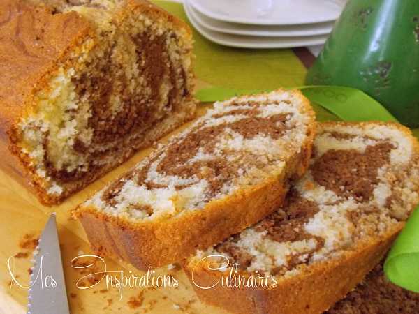 Cake Marbre Vanille Chocolat Ultra Moelleux Le Blog Cuisine De Samar