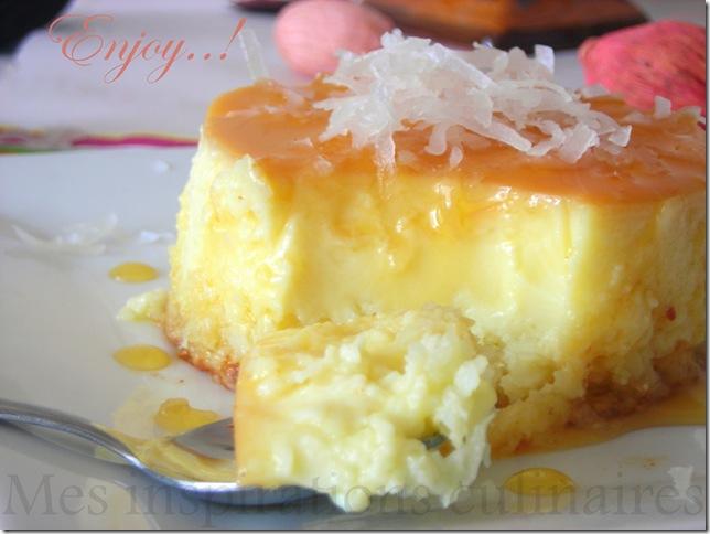 Flan Coco Le Blog Cuisine De Samar