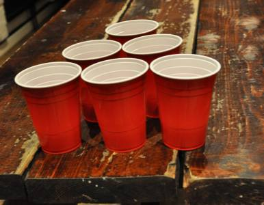Mehumbdas beer-pong turnering
