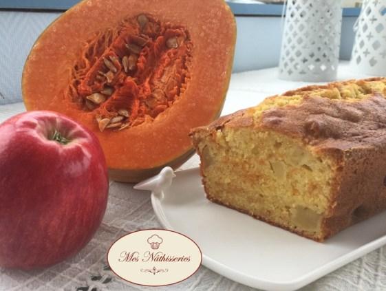 Cake aux pommes et à la sucrine du berry