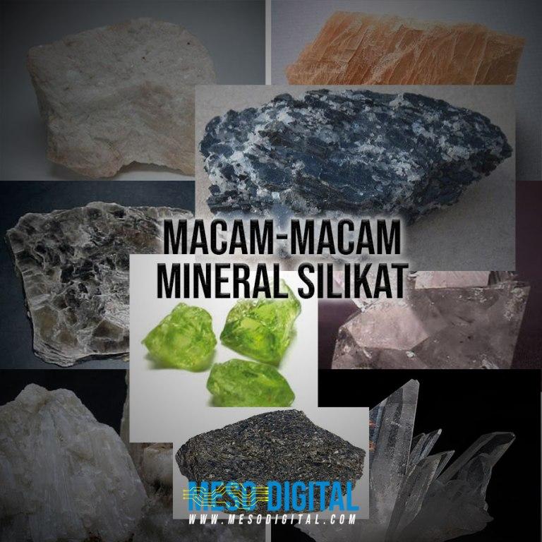 Macam-macam mineral silikat
