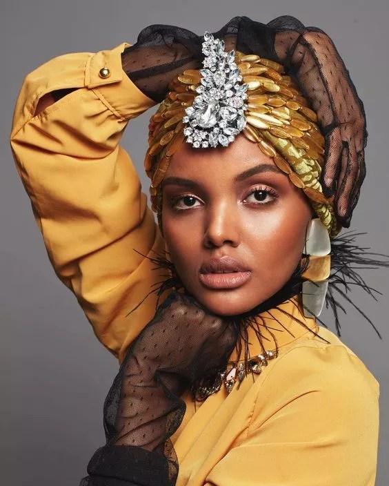 idees accessoires photo grossesse coiffure turban ethnique