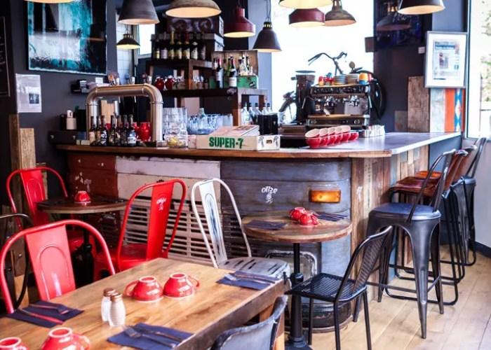 photo de la salle de restaurant Onze levallois perret