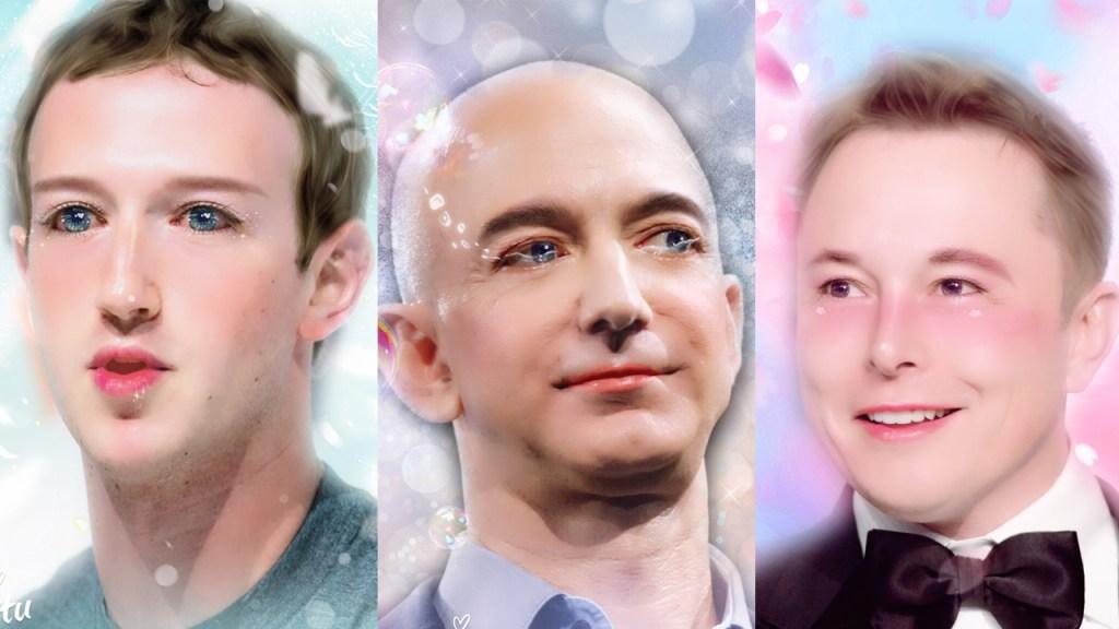 Trois anges tombés du ciel