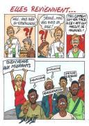Duf dessinateur Immigration maladies