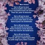 Poèmes d'amour pour la Saint Valentin