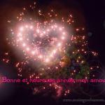 Bonne année 2018: Textes de vœux romantique