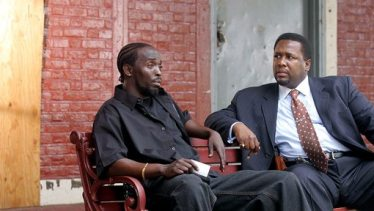 """Omar and Bunk in the HBO series """"The Wire."""""""