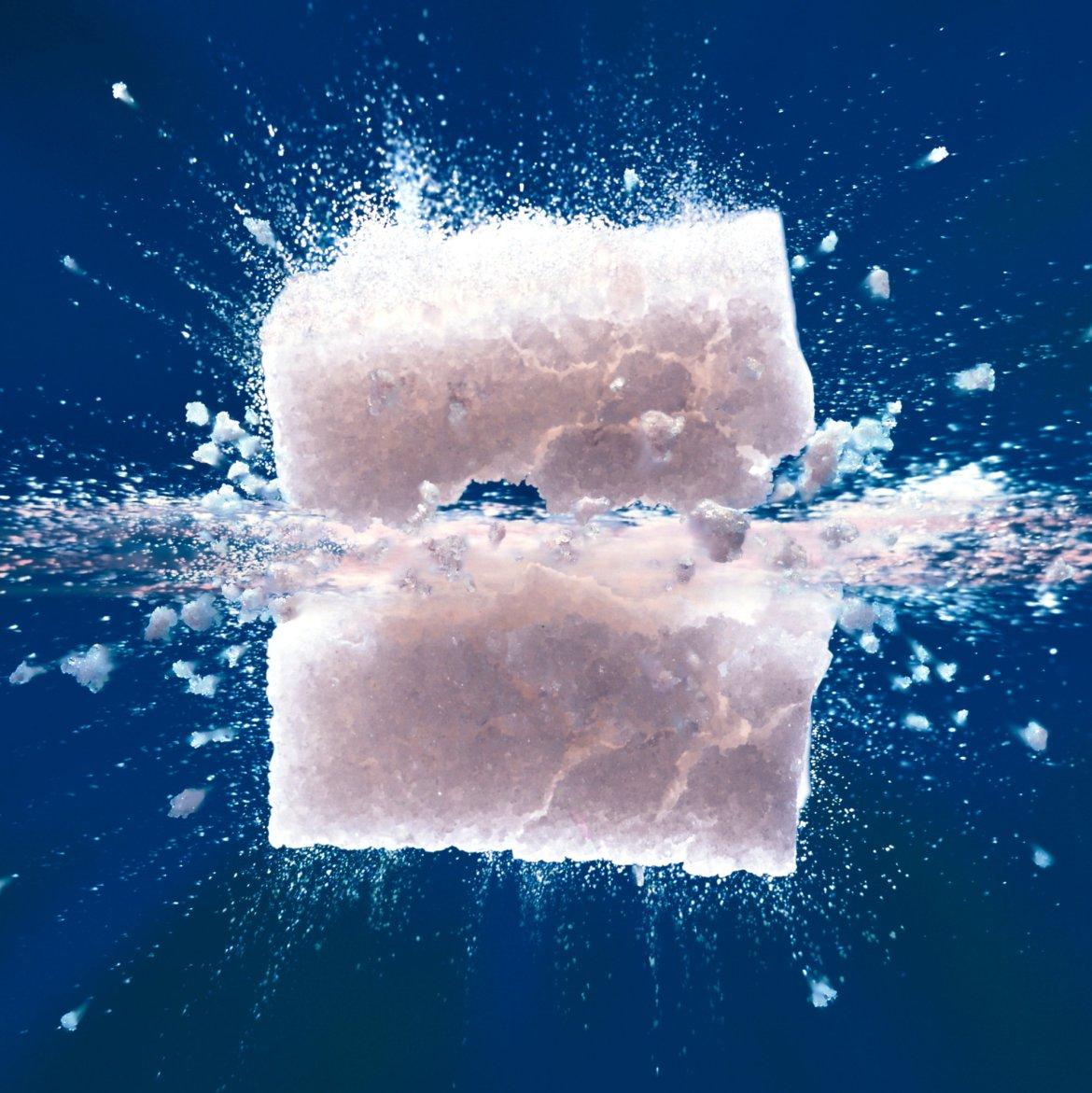 Sugar cube bursting