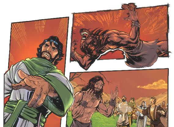 demoniac healed
