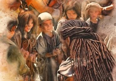 Jesus blessing childrn