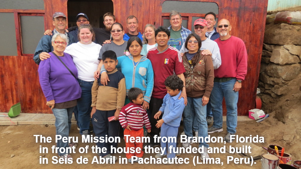 2014 Message Ministries - Brandon Peru Team 419