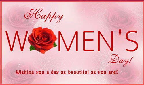 Wrong! You don't have to be beautiful to celebrate Women's Day.