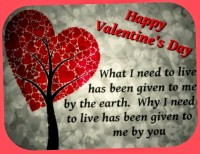 valentines day special message
