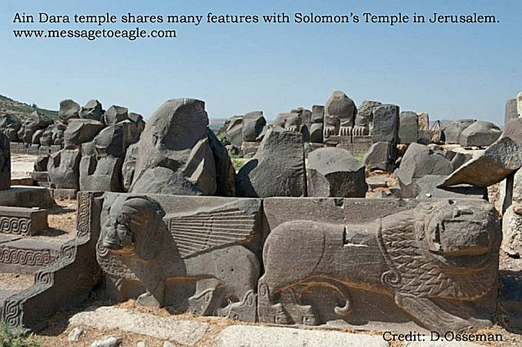 Ain Dara Temple monuments