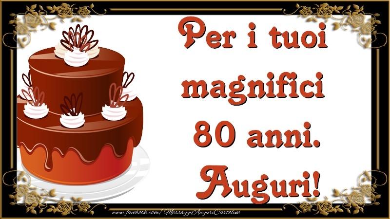 Biglietti Auguri Compleanno 80 Anni Da Stampare