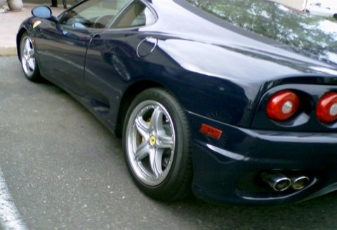Ferrari 360 with extra swoopy sauce