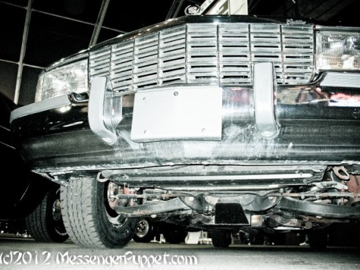Cadillac Presidential Limo under front