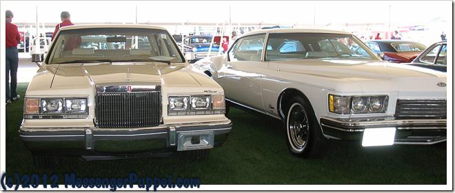1982 Lincoln Continental 1973 Buick Riviera