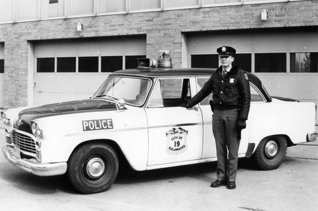 1967 checker Kalamazoo police