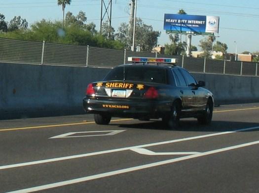 Sheriff Joe: Carpool lane violator