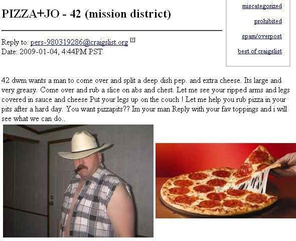 Pizza fetish