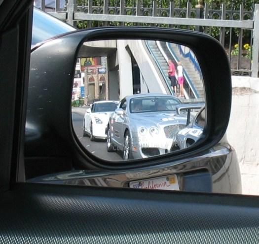 Bentley continental GT, Porsche 911, Nissan GT-R