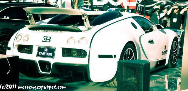 Bugatti Veyron SEMA