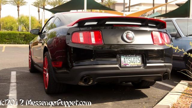2012 Ford Mustang Boss 302 Laguna Seca