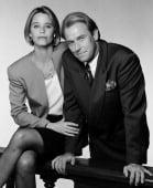 L.A. LAW -- Season 5 -- Pictured: (l-r) Susan Dey as Grace Van Owen, Corbin Bernsen as Arnie Becker -- Photo by: NBC/NBCU Photo Bank