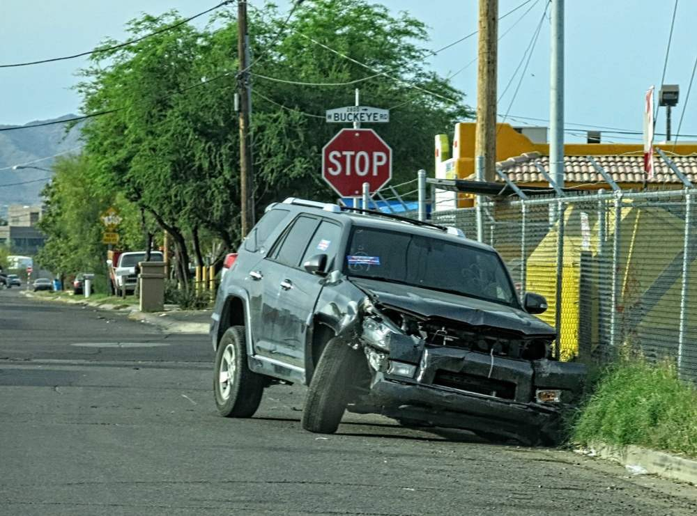 4runner crash