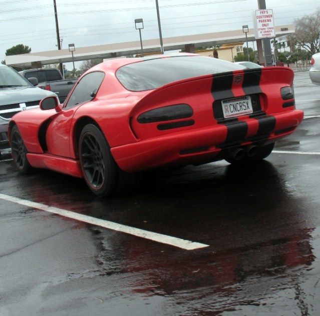 Dodge Viper GTS at Fry's