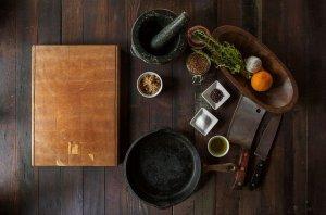 Kochmesser aus Damast um richtig kochen zu koennen