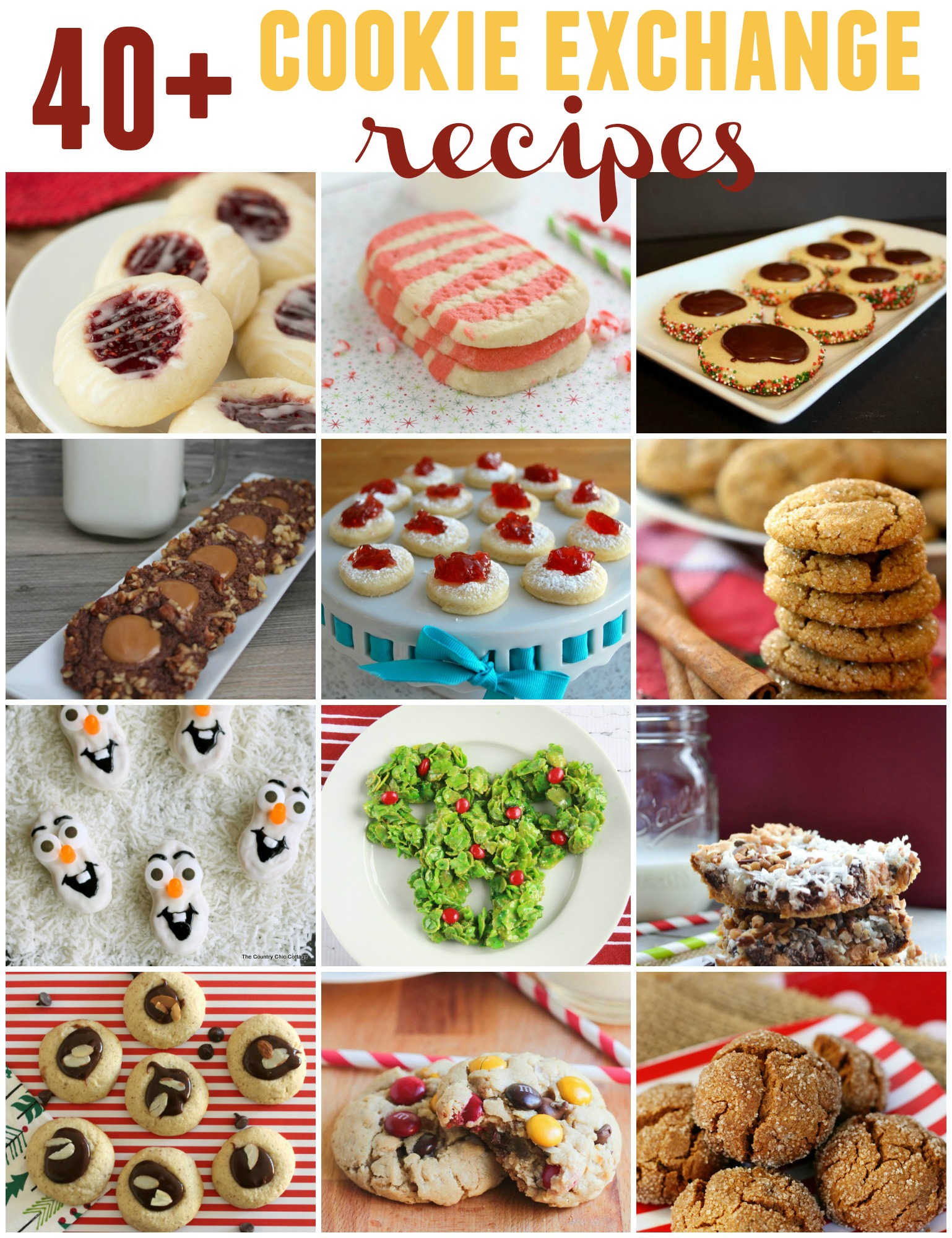 COOKIE EXCHANGE INSPIRATION (9+ recipes)