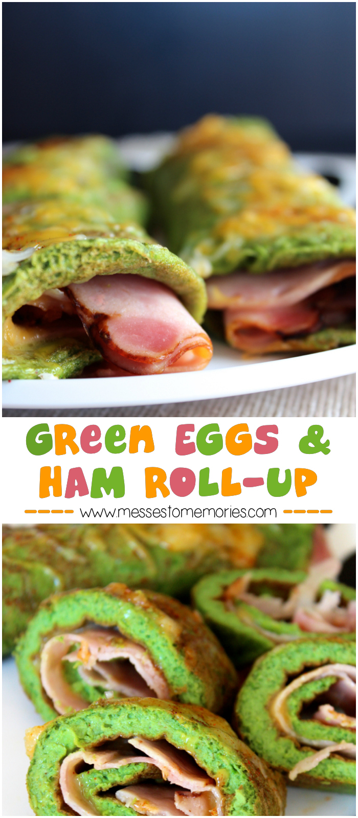 Green Eggs & Ham Roll-Up for a Healthy Breakfast from Messes to ...