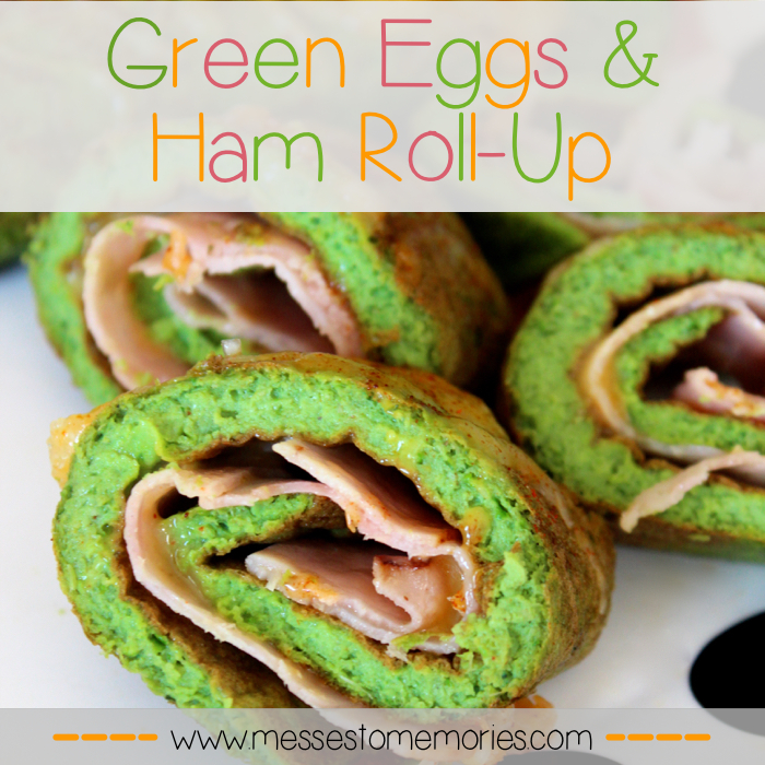 Green Eggs & Ham from Messes to Memories
