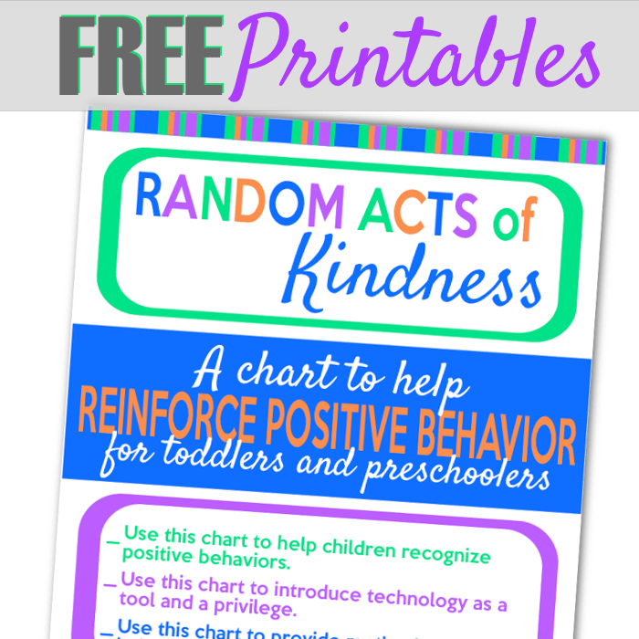 graphic relating to Random Act of Kindness Printable named Random Functions of Kindness Printable