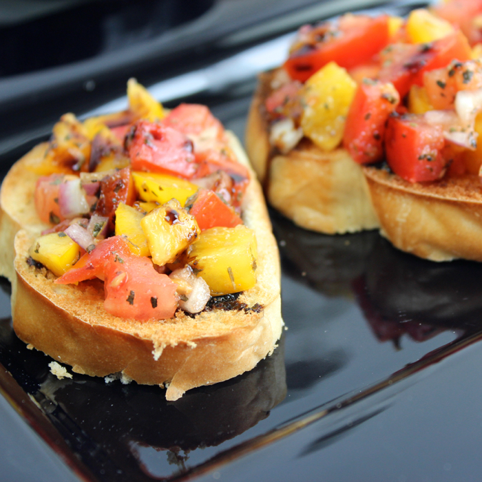 Bruschetta from Messes to Memories