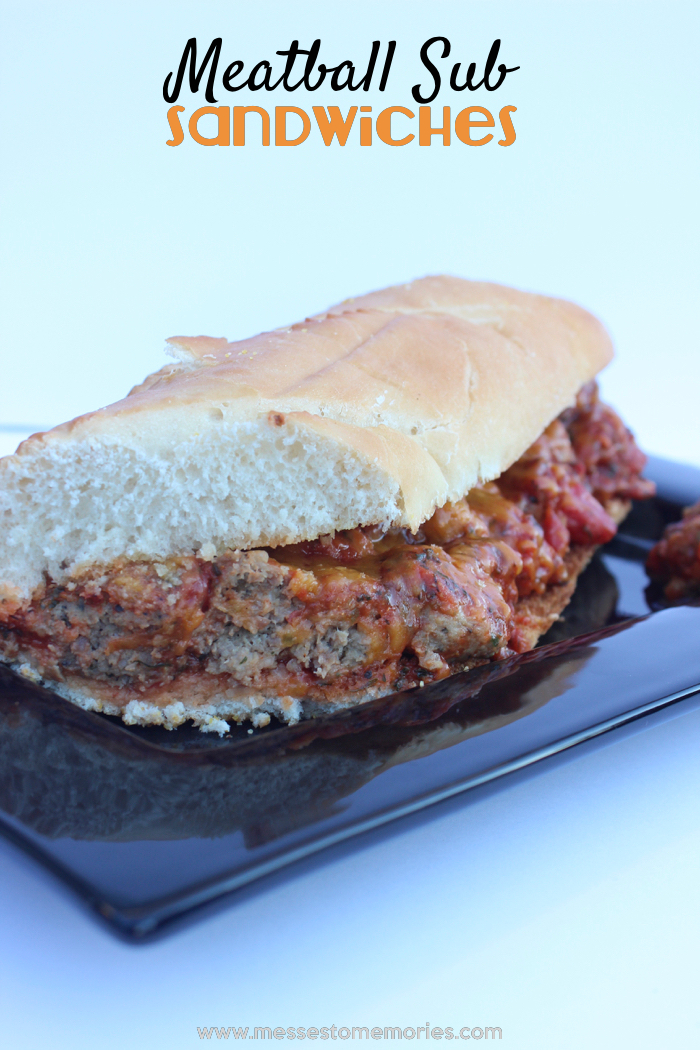Meatball Subs from Messes to Memories