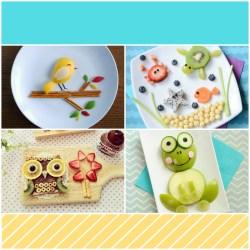 FUN FOOD ART FOR KIDS