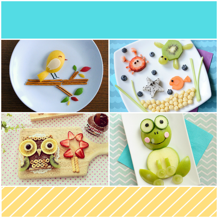 Fun food art ideas for kids from Messes to Memories