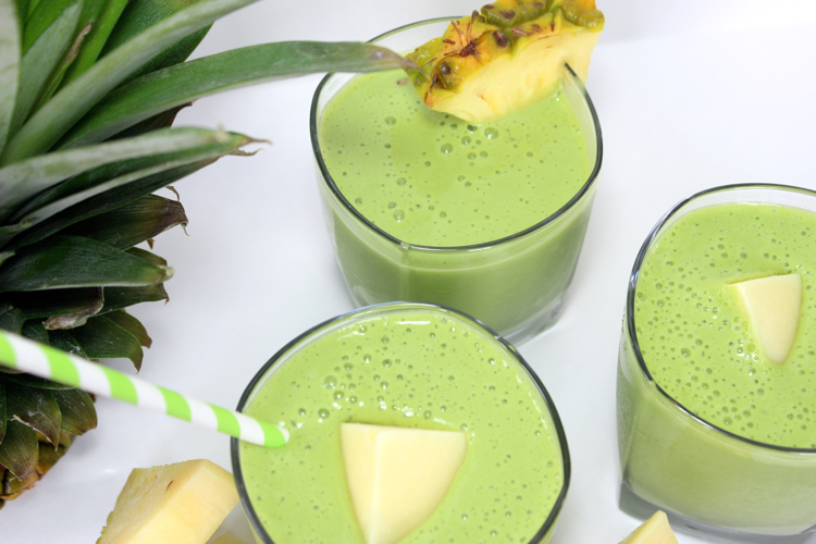 Green Pineapple Milkshake